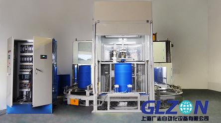 200L自动液体灌装机_液体称