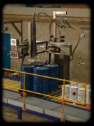 采用直流式膏体灌装机