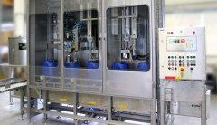 易损件少,清洗、维修液体灌装机